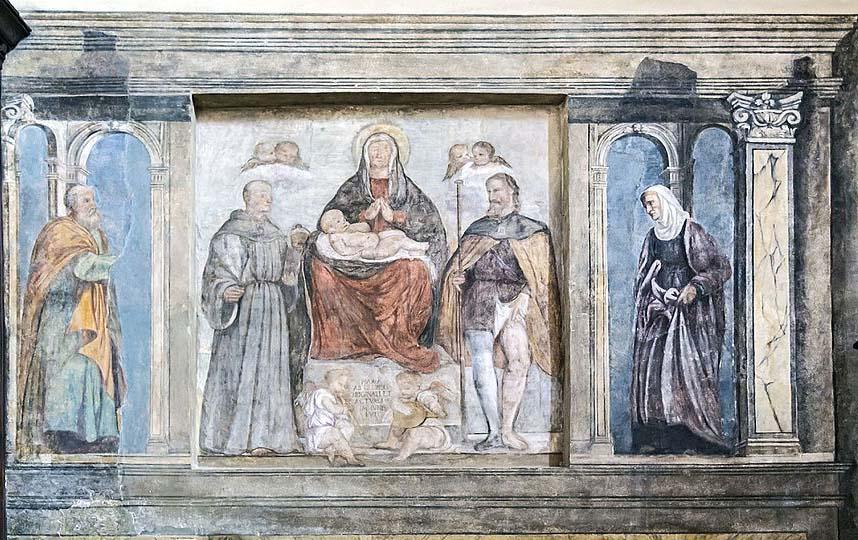Galactus Translations - Church of Santa Maria dei Servi Padua - Summary of a dispute over family tombs